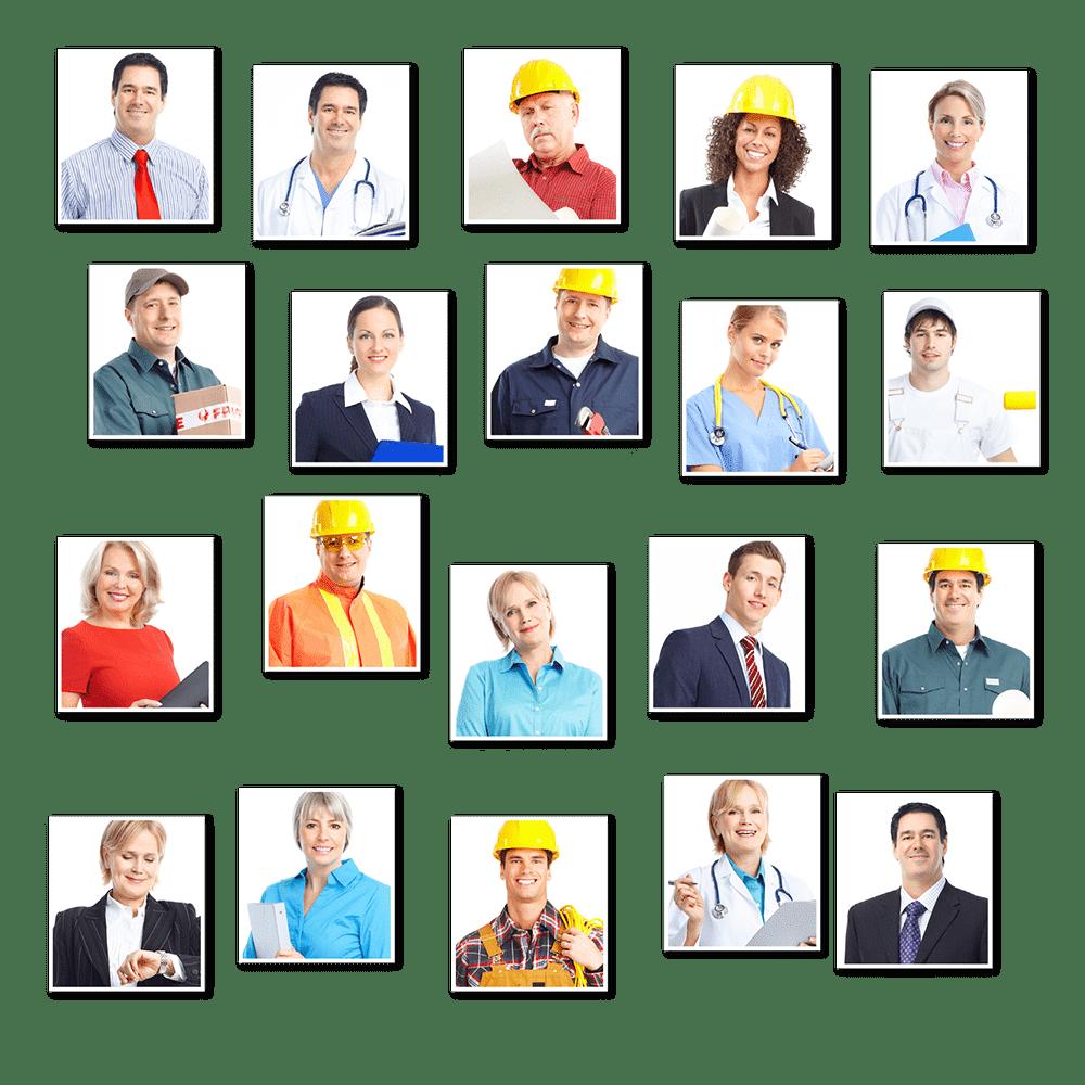 Berufe Uebersicht klein - Leistungen